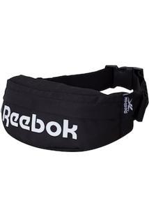 Pochete Reebok Logo Linear - Preto