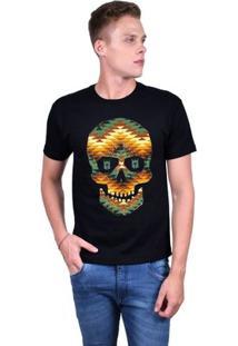 Camiseta Joss Estampada Masculina - Masculino-Preto