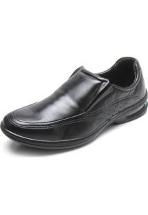 Sapato Social Pegada Elástico Preto