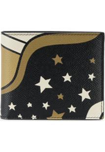 Dolce & Gabbana Carteira Com Estampa De Estrela E Cometa - Preto
