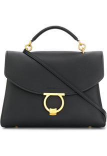 Salvatore Ferragamo Margot Shoulder Bag - Preto