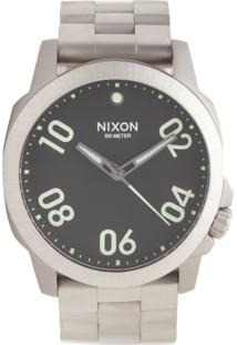 9ea9ce5303c ... Relógio Nixon Ranger 45 Ss Prata