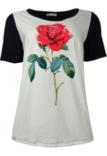 Camiseta Knt T-Shirt Rosa Feminina - Feminino