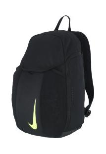 8c19bf1ba ... Mochila Nike Academy 2.0 - 30 Litros - Preto/Verde Cla