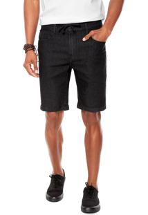 Bermuda Jeans Hang Loose Jam Preta
