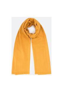 Cachecol Básico Liso | Accessories | Amarelo | U