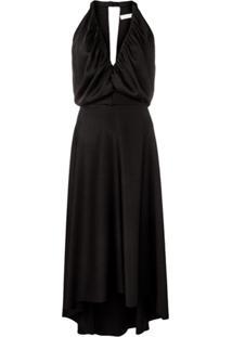 Chloé Vestido Midi - Preto
