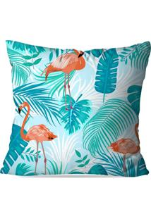 Capa De Almofada Love Decor Avulsa Flamingo Blue Multicolorido