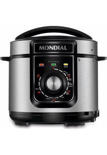 Panela De Pressão Elétrica Mondial Pratic Cook Premium Pe-48-5L-I Preta 5L - 127V
