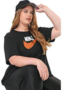 Camiseta Nike Sportswear W Nsw Jdiy Preta