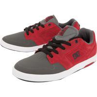Tênis Cinza Dc Shoes masculino  e1da9a2b2b9e2