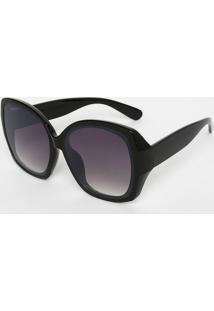Óculos De Sol Preto Roxo feminino   Gostei e agora  7e4081dcf5