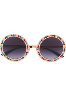 004304ce9eab0 R  4347,00. Farfetch Óculos De Sol Feminino Tfk Haste Dolce ...