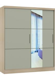 Guarda Roupa Classic Linha Quarto Castro 2 Portas 1 Espelho