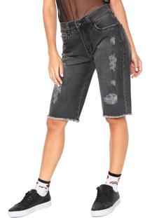 Bermuda Jeans Colcci Daniela Preta