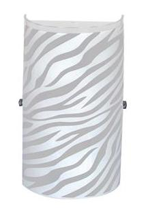 Arandela Attena Venus Pequena Zebra Para 1 Lâmpada - Branca