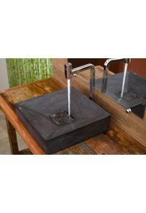 Cuba Para Banheiro Astra Cpp/M10S Pedra Blue Stone 40X40Cm