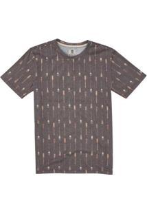 Camiseta Timberland Rowing. - Masculino-Marrom