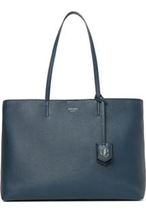 Jimmy Choo Bolsa Tote Nine2Five - Azul