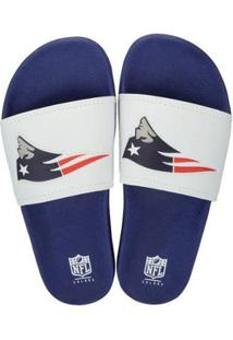 Chinelo New England Patriots Slip On Colors - Nfl - Masculino - Masculino