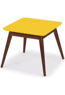 Mesa De Centro Basic - Amarelo - Tommy Design