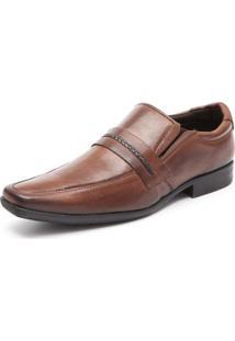 Sapato Social 100% Couro Bico Longo Urban Street
