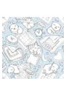 Papel De Parede Adesivo Animais Dormindo 270971084 R 0,58X3M