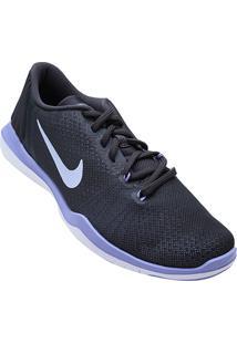 ... Tênis Nike Flex Supreme Tr 5 Feminino - Feminino-Cinza+Roxo 8b87d232bf8c4