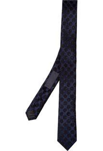 Gravata Lisa 8 5Cm (Azul Escuro, Un)