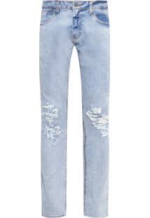 Calça Masculina Super Skinny Isidro - Azul