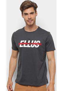 Camiseta Ellus 2Nd Floor Estampa Logo Masculina - Masculino