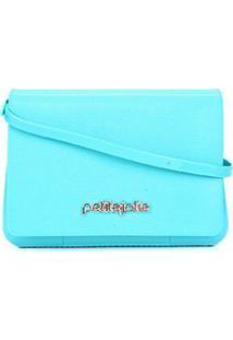 Bolsa Petite Jolie One Alça Ajustável - Feminino-Azul Claro