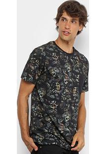 Camiseta Mcd Especial Full Nightmare Masculina - Masculino-Bege