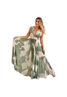 Vestido Festa Fluído Miesse Liberty