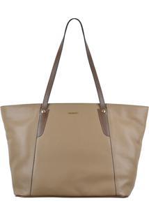 Bolsa Couro Mariart Shopping Bag Fendi