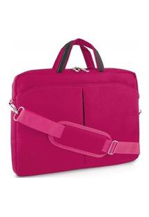 Bolsa Para Notebook 15Pol Multilaser Bo170 Nylon Rosa