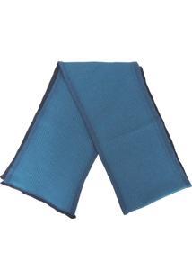 Cachecol Fiero Tricô Premium Bronx Azul