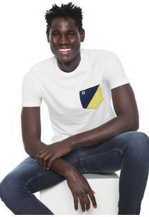 Camiseta Iódice Bolso Branca