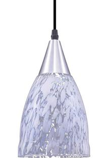 Luminária Pendente Taschibra Vicenza Aerado E27 Branca Bivolt