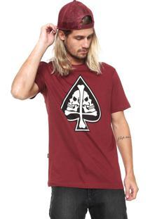 Camiseta Mcd Cross Vinho