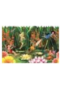 Faixa De Parede Fadas Disney York Dk5896 Com Estampa Infantil, Disney, Floral, Personagens