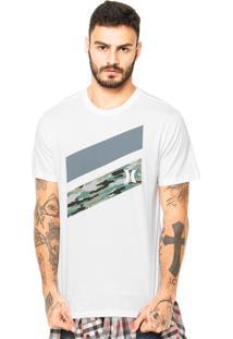 Camiseta Hurley Icon Slash Boardshort Fill Branco