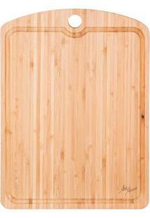 Tábua De Bambu Para Corte 26 X 36 Cm