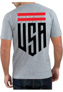 Camiseta Hunter Usa Cinza