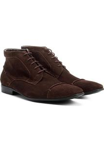 Bota Couro Shoestock Masculina