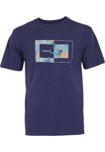 Camiseta Hurley Silk Sweet Day - Masculina - Roxo