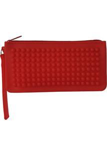 Necessaire Bag Dreams Impermeável Vermelha