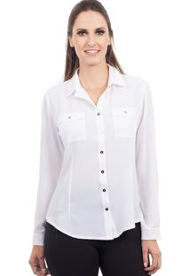 Camisa Love Poetry Off White