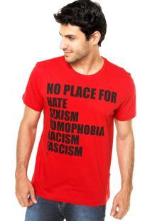 Camiseta Forum Reta Vermelha