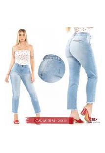 Calça Jeans Feminina Midi Biotipo - 2681